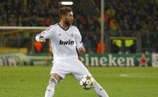 Le défenseur du Real Madrid Sergio Ramos, lors d'un match de Ligue des champions, le 24 octobre 2013.