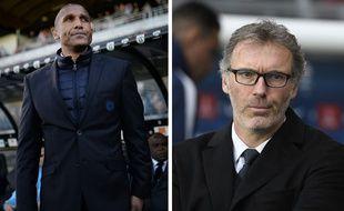Franck Passi, le coach de l'OM, et Laurent Blanc, celui du PSG, sont très amis dans la vie.