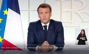 Allocution d'Emmanuel Macron le 31 mars 2021.