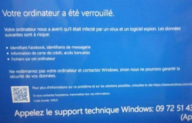 Une arnaque à «l'écran bleu» sévit sur Windows 10