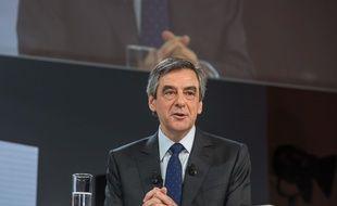 François Fillon, le 21 février 2017 à Paris.