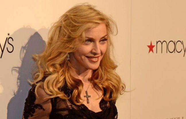 Madonna, le 12avril 2012.