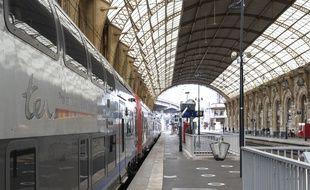 Illustration de la gare de Nice.