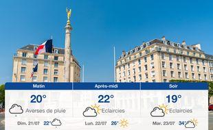Météo Caen: Prévisions du samedi 20 juillet 2019