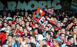 Des supporters de Guingamp (illustration).