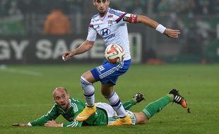 Maxime Gonalons a beau faire chuter Renaud Cohade, le milieu lyonnais s'était lourdement incliné (3-0) lors du précédent derby dans le Chaudron.