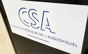 Le logo du Conseil supérieur de l'audiovisuel (CSA).