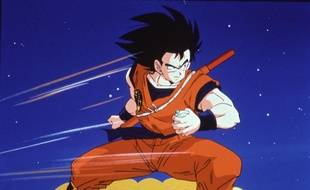Le personnage de Sangoku, dans «Dragon Ball Z».