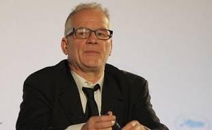 Thierry Frémaux, le délégué général du Festival de Cannes, le 16 avril 2015.