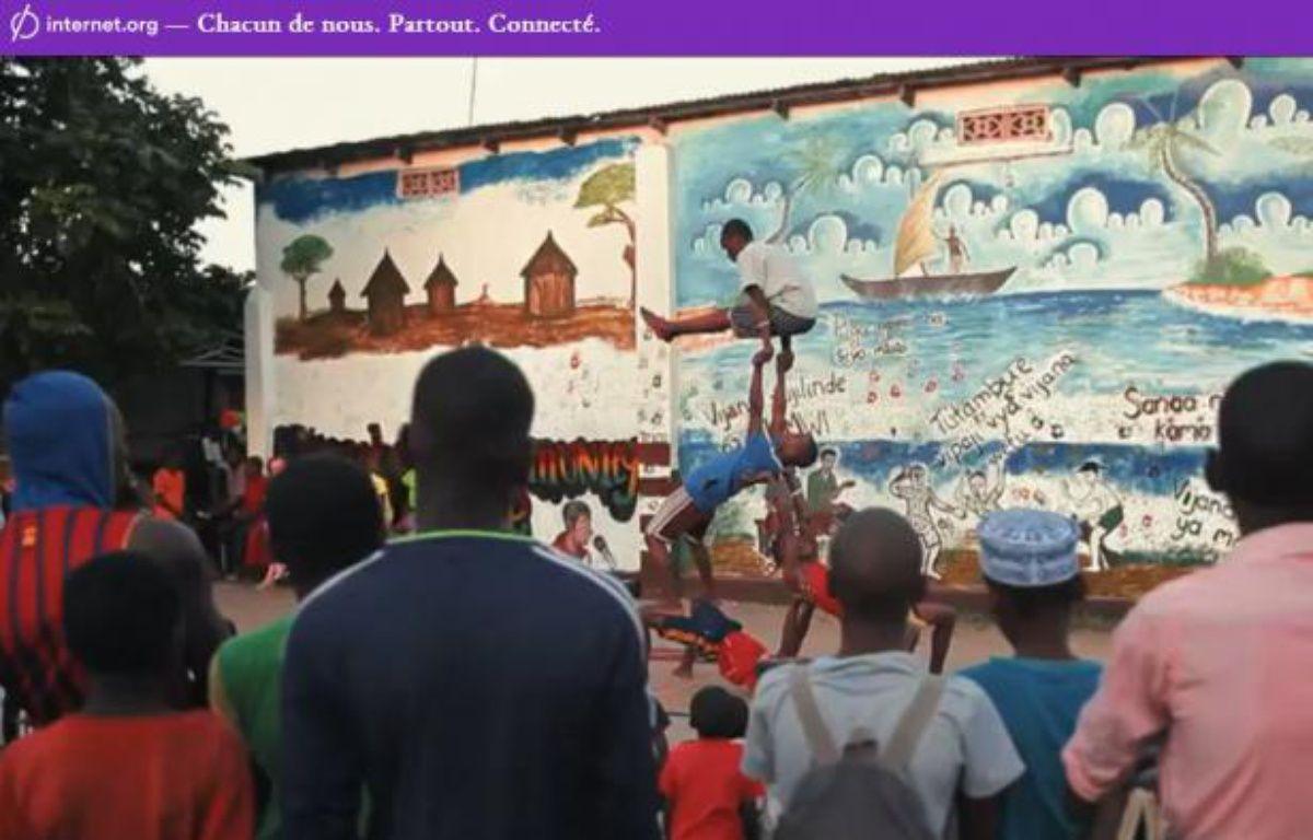 Extrait du clip promotionnel pour l'initiative Internet.org. – capture d'ecran / DR