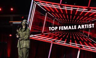 La chanteuse Billie Eilish lors de la cérémonie des Billboard Music Awards 2020