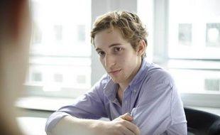 """Alexander Aciman à la redaction de 20minutes le 31 mars 2010 pour la sortie de son livre """"La Twitterature"""""""