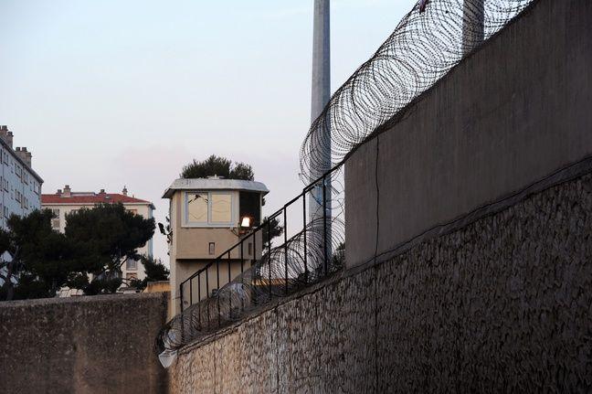 Un mirador de la prison des Baumettes.