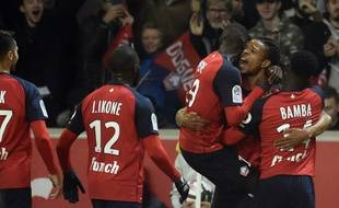 La joie de Loîc Rémy après son but marqué contre Lyon