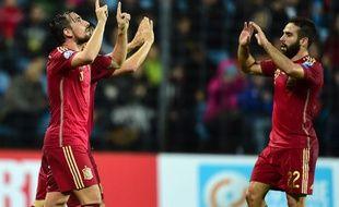 Les Espagnols se sont imposés au Luxembourg le 12 octobre 2014.