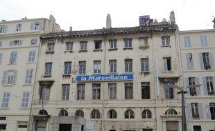 Le siège du journal La Marseillaise.