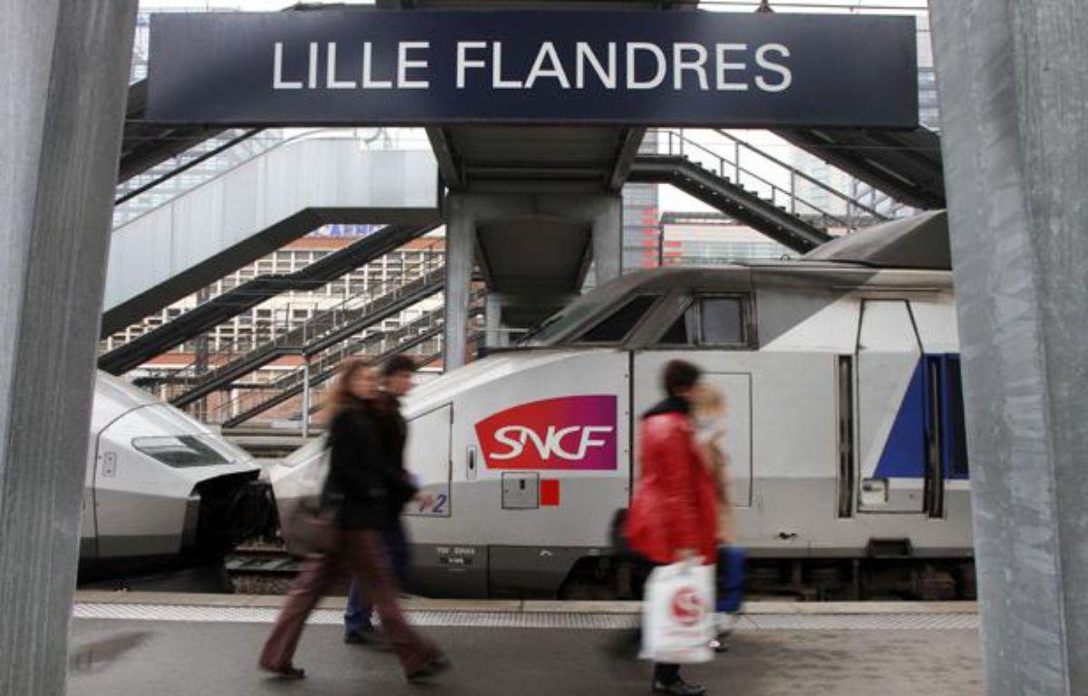 La polémique enfle dans la région Nord-Pas-de-Calais sur les tarifs des TGV. Ils vous en coûtera plus cher de prendre un TGV au départ de Lille-Flandres qu'ailleurs en France. – M.LIBERT/20MINUTES