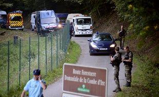 La famille al-Hilli et Sylvain Mollier ont été tués sur une route forestière près du village de Chevaline