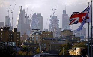 La City à Londres, le quartier d'affaires de la capitale.