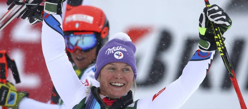 Tessa Worely a remporté le premier Géant de la saison.