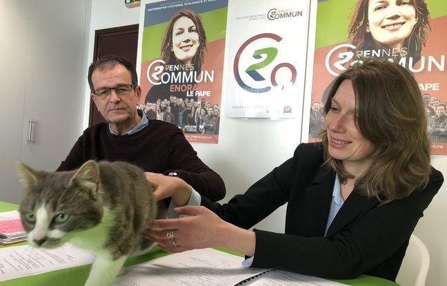 Municipales 2020 à Rennes: La France insoumise présente un chat sur sa liste