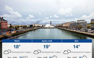 Météo Le Havre: Prévisions du jeudi 3 septembre 2020