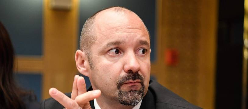 Vincent Crase, lors de son audition devant la commission d'enquête du Sénat, vendredi 19 septembre.
