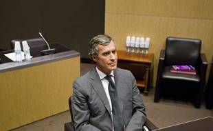 Le 26 juin 2013. Jerome Cahuzac est auditionne par la commission d'enquete parlementaire apres son aveu de detention d'un compte bancaire a l'etranger.  // PHOTO : V. WARTNER / 20 MINUTES