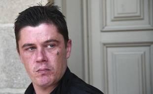 Daniel Legrand arrive au tribunal de Rennes, le 1er juin 2015