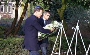 Mark Rutte lors de l'hommage national rendu aux victimes de la Shoah à Amsterdam, le 26 janvier 2020.