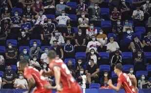Comme contre Dijon, le Parc OL a pu accueillir vendredi dernier face à Nîmes 5.000 spectateurs.