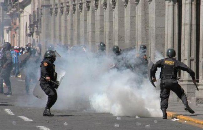 Pérou: état d'urgence en raison de manifestations