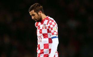 Darijo Srna  a appris le décès de son père durant la rencontre Croatie - Turquie