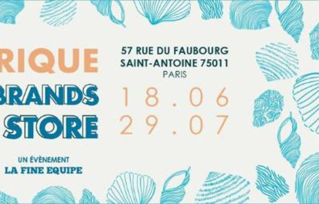 Visuel officiel du Pop Up Store éphémère de La Fabrique