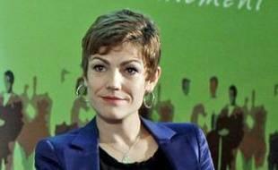 Chantal Jouanno, le mardi 2 novembre au ministère de l'Ecologie lors du rapport d'étape du Grenelle de l'Environnement.