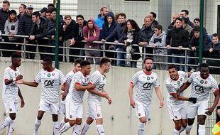 Le SRFC s'était qualifié sur le terrain de l'AC Ajaccio, en 8e de finale.