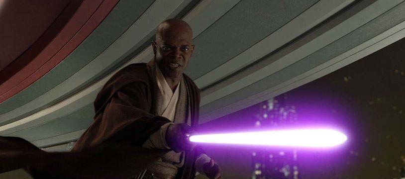 Samuel L. Jackson avait demandé un sabre violet.