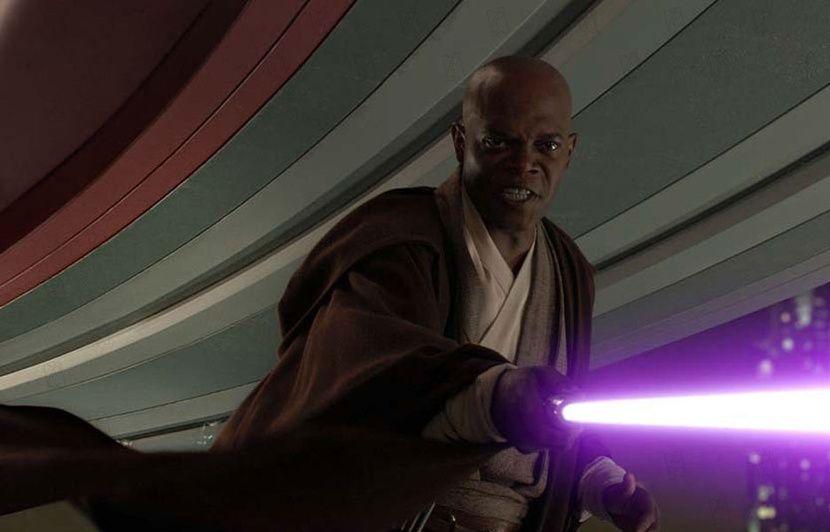 Pourquoi Rey a pu attraper le sabre de Luke à la place de Kylo Ren... Comment Mace Windu a obtenu un sabre violet...