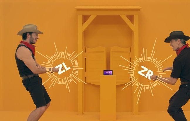 1-2 Switch est une compilation de mini jeux autour de la thématique du duel. Duel de cowboys mais aussi de danse, de traite de vaches ou bien encore d'ouverture de coffre fort.