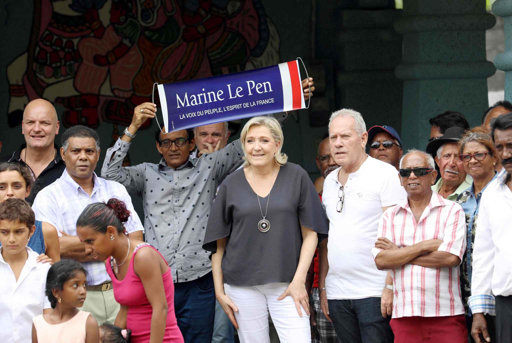Marine Le Pen trouve que c'est « un très bon candidat » pour elle