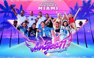 La photo du casting de départ des «Anges back to Miami»