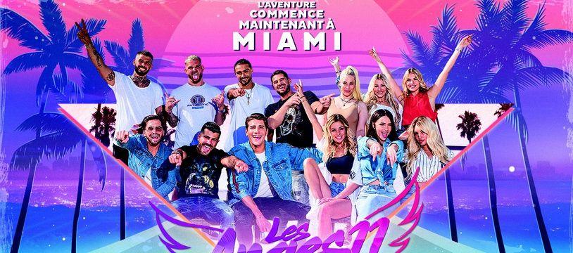 La photo du casting de départ des «Anges back to Miami»