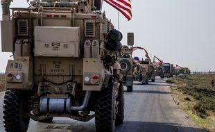 Un convoi militaire américain (illustration).