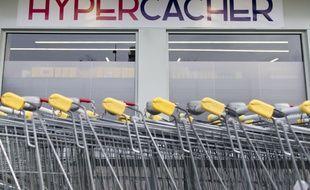 Le supermarché Hyper Cacher porte de Vincennes à l'est de Paris