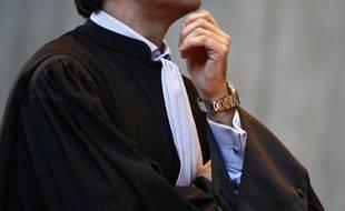 Le 27 janvier 2012. Illustration d'un avocat. M. Liebert / 20 Minutes