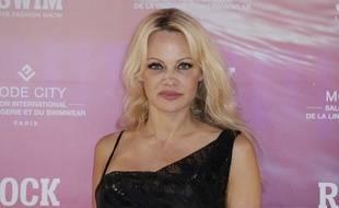 Pamela Anderson était présente samedi soir à Bordeaux.