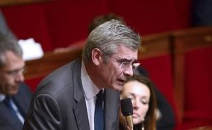 Le député LR Jean-Charles Taugourdeau, le 20 novembre 2013, à l'Assemblée nationale.