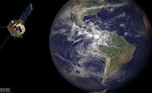 Une vidéo de la NOAA condense en trois minutes 10 abns de météo.
