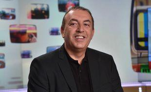 Jean-Marc Morandini sur le plateau de «Mediasphere» (LCI), en juin 2015.