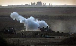 Des soldats israéliens à Gaza, le 20 juillet 2014.
